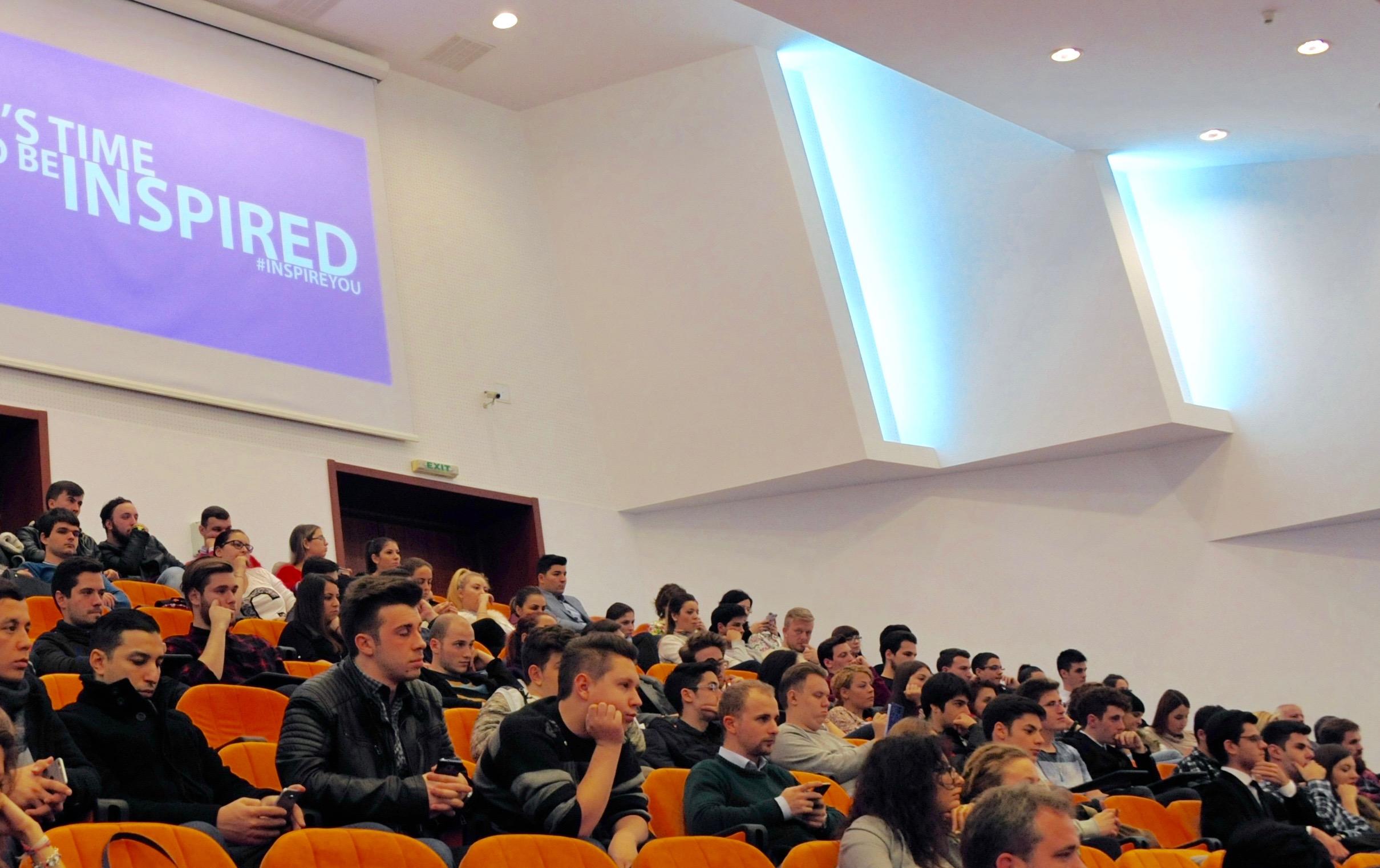 University Crowd